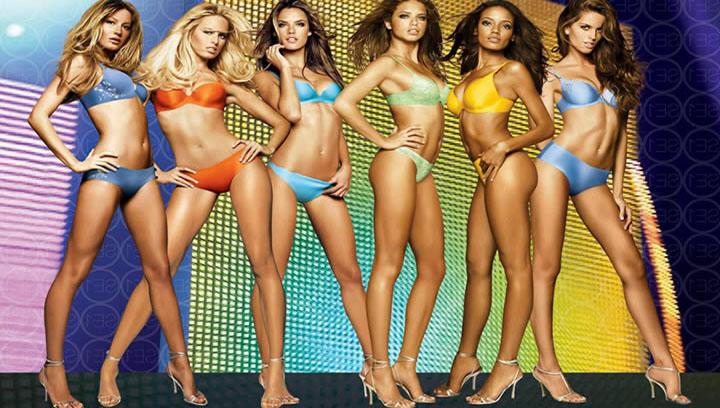 Лучшие моменты из рекламы нижнего белья. Best sexy moments of Victoria's Secret 2014