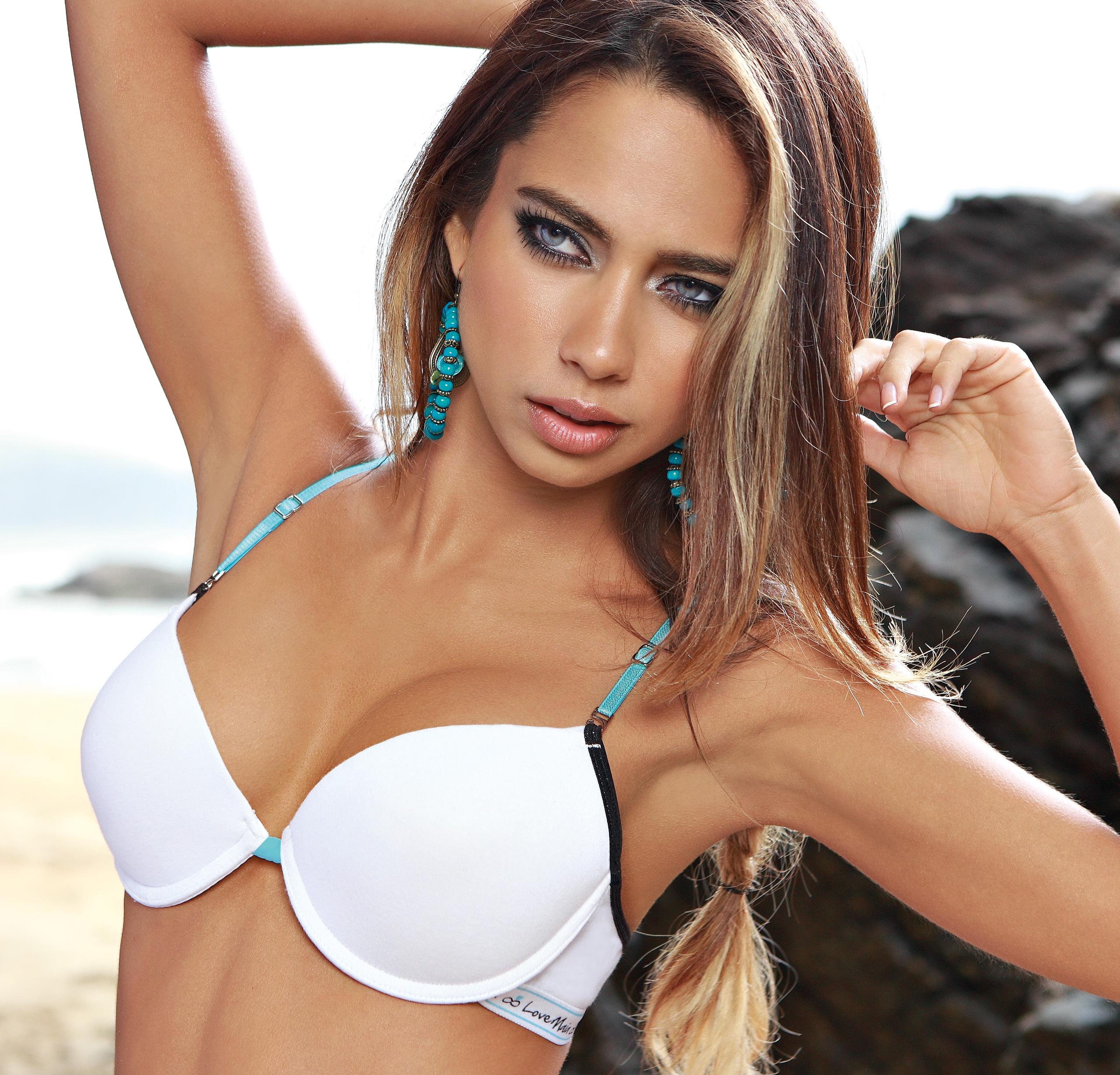 Catalina Otalvaro in Maia Underwear photoshoot
