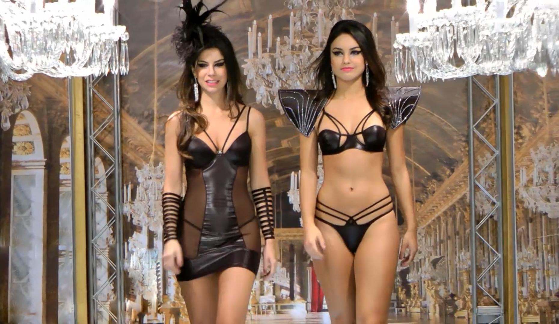 Salao Moda. Desfile de lingerie. Underwear fashion