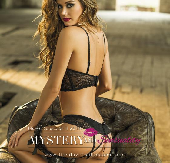 Besame lingerie collection 2014. Mistery and sensuality. Коллекция женского нижнего белья Besame